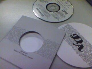 Kartu Undangan + CD